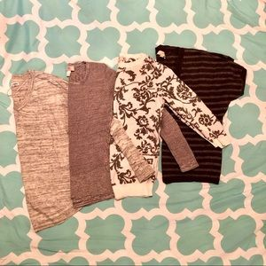 Lot of Grey Sweaters S-M